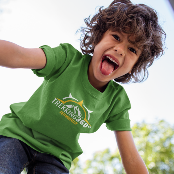 kid-playing-wearing-a-t-shirt-template-at-the-park-a17869